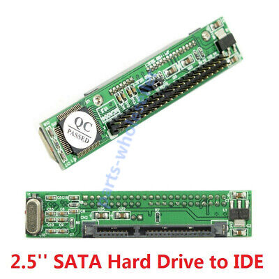 2.5  SATA SSD HDD Hard Disk Drive To Mini 44pin IDE Adapter Connector Convertor • 4.75£