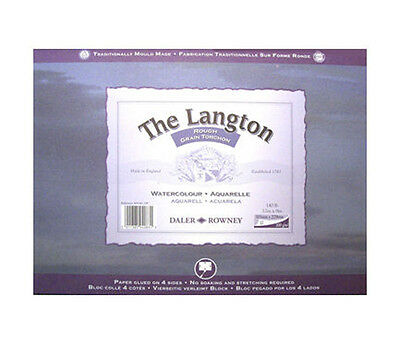 Daler Rowney Langton Watercolour Block Rough 14  X 10  • 19.75£