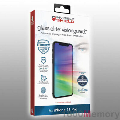 AU59.50 • Buy ZAGG InvisibleShield Glass Elite VisionGuard+ Screen Protector For IPhone 11 Pro
