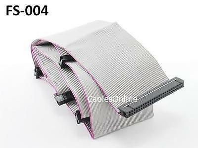 $14.95 • Buy 36  50-Pin SCSI 5-Connector Internal Ribbon Cable Up To 4 Drives, CablesOnline