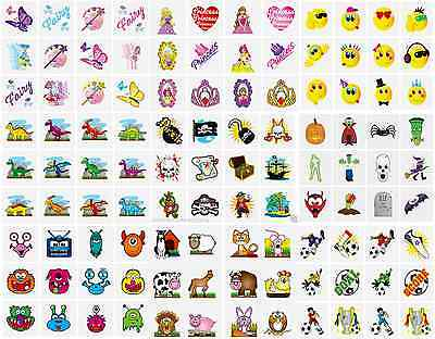144 X CHILDRENS TEMPORARY TATTOOS TRANSFERS SCHOOL FAIR FETES PARTY BAGS TOYS • 3.35£