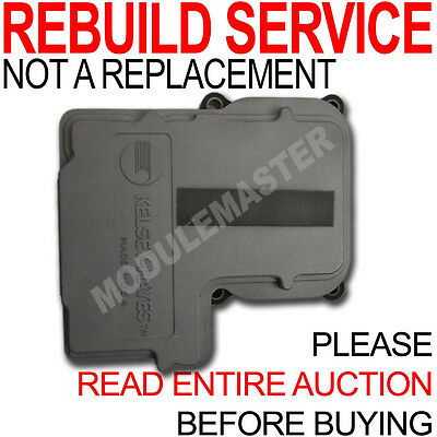 $129.99 • Buy Rebuild Repair Of 99 00 01 02 03 04 05 06 07 KH GMC Chevy Isuzu Honda ABS Module