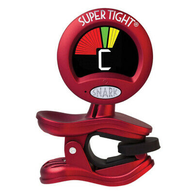 AU31.95 • Buy Chromatic Tight Clip-On All Instrument Tuner & Metronome Red WST2 SNARK