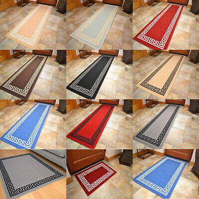 Non Slip Rubber Backing Long Narrow Hall Rugs Kitchen Floor Carpet Runner Mats • 7.99£