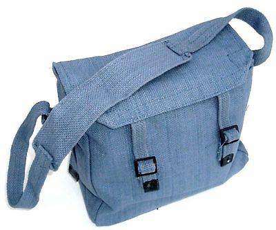 MILITARY MESSENGER BAG Heavy Duty Royal Air Force Cotton Canvas Army Haversack • 11.89£