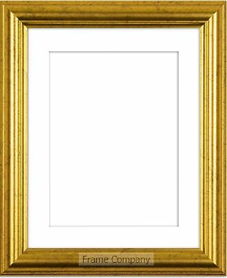 £13.91 • Buy Frame Company Eldridge Range Gold Or Silver Picture Photo Frames With Mount