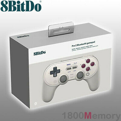 AU109 • Buy GENUINE 8BitDo Pro 2 Bluetooth Controller Gamepad G Classic Edition Back Buttons