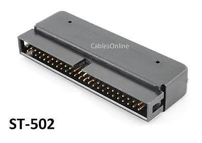 $8.99 • Buy  IDC50 Active Internal 50-Pin Male SCSI Terminator For Ribbon Cables - ST-502