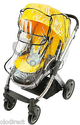 Raincover Fits Bugaboo Cameleon ICandy Apple Peach Strawberry Silver Cross Surf • 9.99£