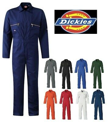 £39.95 • Buy Mens Dickies Redhawk Zip Front Coverall Overalls Boilersuit Wd4839 Sizes 34-60''