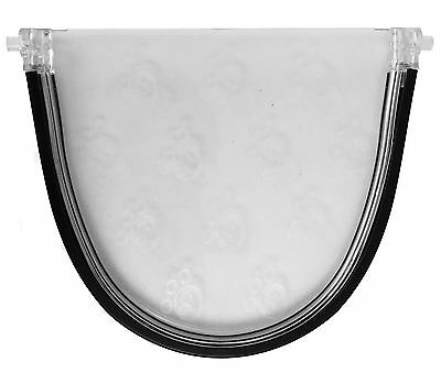 Cat Flap Replacement Polycarbonate Door Spare Flap Staywell Petsafe 919 932 917 • 11.95£