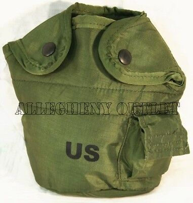 $ CDN11.83 • Buy GENUINE US Military Issue 1 QT QUART CANTEEN COVER 1Qt Pouch W/ Alice Clips NEW