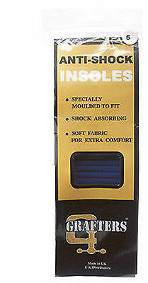 Insoles Shock Absorbing Boots Trainers Shoes Full Support Comfort Size 3 To 12 • 6.15£