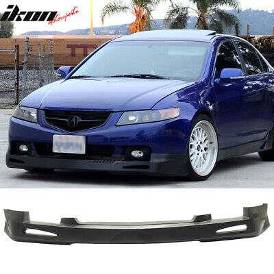 $150.99 • Buy Fits 04-05 Acura TSX 4-Door Sedan JDM Style Front Bumper Lip Spoiler - PU