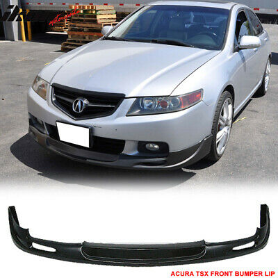 $165.99 • Buy Fits 04-05 Acura TSX Mugen Style Front Bumper Lip Spoiler - PU