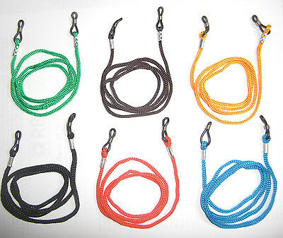 1 2 6 12 Glasses Straps Neck Cord Lanyard For Glasses (6 Colours To Choose From) • 1.85£