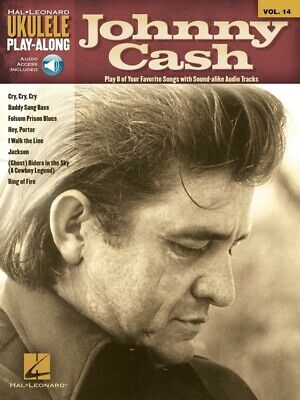 AU33.95 • Buy Ukulele Play-Along Volume 14: Johnny Cash Book And CD *NEW* Sheet Music, Song