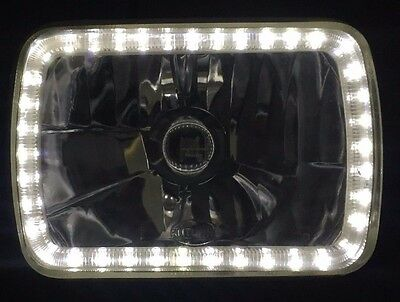 AU169.95 • Buy Ford F250 F350 Laser Courier Daihatsu Feroza Rocky Halo Angel Eye Headlight NEW
