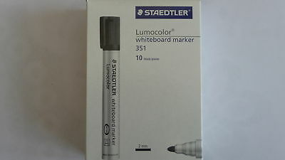 STAEDTLER Lumocolor Whiteboard Dry Wipe Markers Pens - BOXES Of 10 • 12.99£