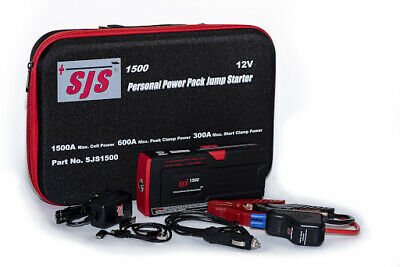 AU255 • Buy Sjs1500 Personal Power Pack Jump Starter Charger - Up To Petrol 7l Diesel 4.2l