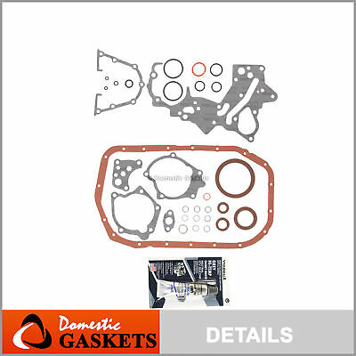 AU35.20 • Buy Fits 93-99 Mitsubishi Plymouth 2.0L 2.4L Lower Gasket Set 4G63 4G64 4G63T Turbo