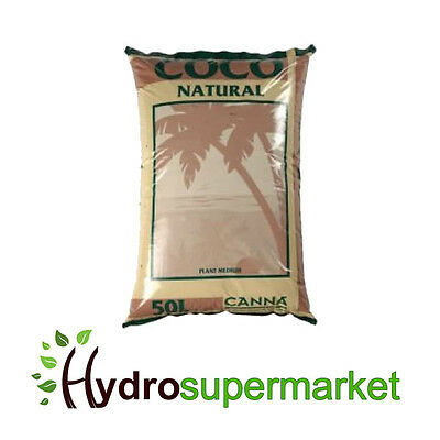 Canna Coco Natural Coir 50l Hydroponic Growing Medium / Soil • 21.95£