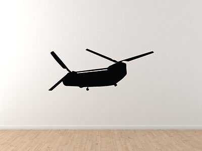 $49.99 • Buy Military Vehicles - Boeing Chinook Helicopter Hook - Vinyl Wall Decal