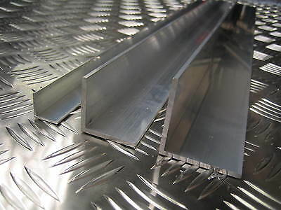 £9.99 • Buy Aluminium Angle L Shape Unequal Multiple Sizes And Lengths 6063T6 6082T6 5