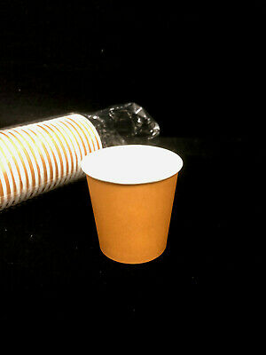 AU18.39 • Buy BULK 400 Disposal Paper Cups 4 Oz Coffee Cup Party Occasions Brand New