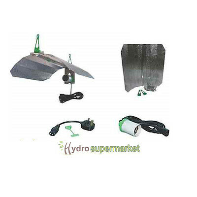 £24.95 • Buy Lumii Maxii Dual Purpose Reflector Kit With Cfl Adapter,for 600w Grow Tent,room