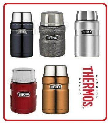 AU37.60 • Buy ❤ Thermos STAINLESS STEEL Vacuum Insulated Food Jar Container 710ml BPA Free OZ