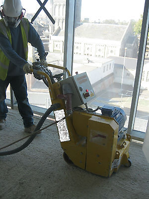 Hire Of 3 Phase Electric Floor Scabbler • 495£