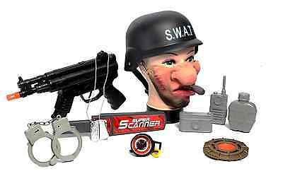 £8.95 • Buy MP5 Gun Shooter Blaster Super Set Multi Accessory  SWAT Bag Army Solider Toy