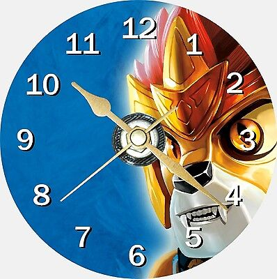 Lego Chima Novelty Cd Clock Can Be Personalised • 8.99£