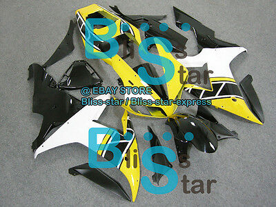 $495 • Buy Yellow INJECTION Fairing Bodywork Fit Yamaha YZF-R1 2002-2003 007 A3