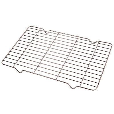 CREDA Oven Cooker Grill Pan Tray Grid Rack Wire Mesh Shelf Food Support Stand • 8.59£