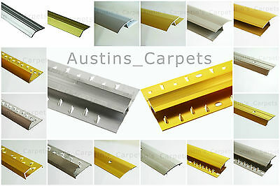 Carpet & Flooring Door Bars / Thresholds  Carpet / Vinyl Bar Naplocks • 3.99£