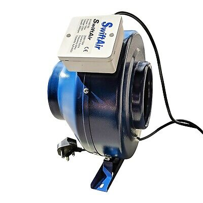 Inline Duct Centrifugal Kitchen Extractor Hydroponic Bathroom Fan Upto 1500m3/h • 51.99£