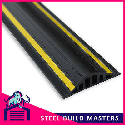 £96.16 • Buy 40mm Garage Door Threshold Rubber Seal By Weather Stop/ Draught Excluder/ WS0017