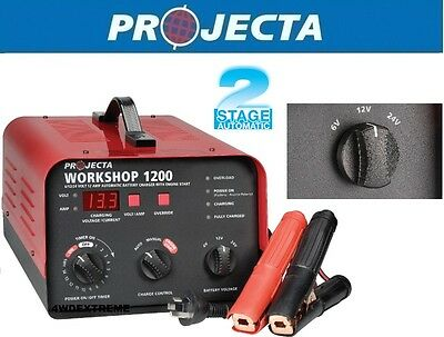 AU510 • Buy Projecta Hdbc20 6,12,24 Volt 12a Auto,man Workshop Battery Charger,engine Start