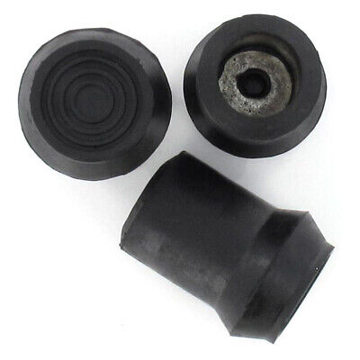 £5.99 • Buy D Type Rubber Ferrules All Sizes For Walking Sticks & Canes