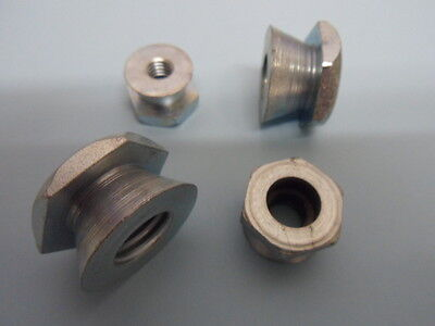 £29.99 • Buy 100 No M6 SHEAR NUTS, BRIGHT ZINC PLATED,  TAMPERPROOF SECURITY NUTS .