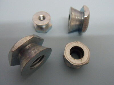 £9.99 • Buy 10 No M12 SHEAR NUTS, BRIGHT ZINC PLATED,  TAMPERPROOF SECURITY NUTS .