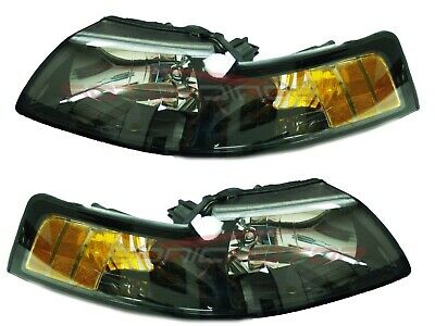 $150 • Buy For 2001-2004 Ford Mustang Head Lights Lamps Driver & Passenger Side LH+RH