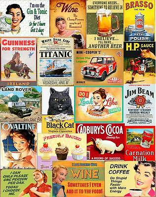 £4.95 • Buy Multi Designs Vintage Retro Wall Signs & Advertisement Metal Wall Sign Plaque L2