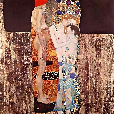 $ CDN57.16 • Buy The Three Ages Of A Woman By Gustav Klimt Giclee Fine Art Print Repro On Canvas