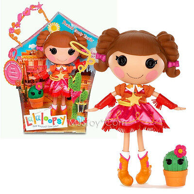 $82.99 • Buy NEW HOT Lalaloopsy 12  Tall Button Rag Doll  Prairie Dusty Trail + Plant Cactus