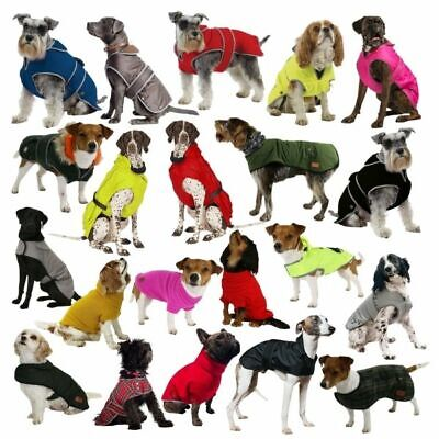 £13.99 • Buy Ancol Muddy Paws Dog Jacket Waterproof Warm Coat All Weather Puppy Coats