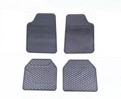 AU39.95 • Buy Rubber Carpet Car Floor Mats Rugged Heavy Duty All Weather