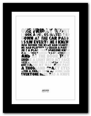 £9.95 • Buy ❤ JAKE BUGG - Seen It All ❤ Song Lyric Art Poster Print - A1 A2 A3 Or A4